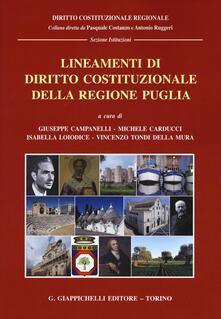 Premioquesti.it Lineamenti di diritto costituzionale della regione Puglia Image