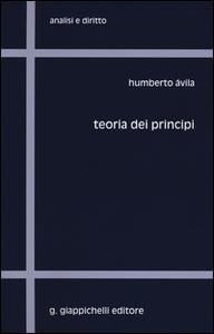 Libro Teoria dei principi Humberto Àvila