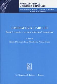 Rallydeicolliscaligeri.it Emegenza carceri. Radici remote e recenti soluzioni normative. Atti del Convegno (Teramo, 6 marzo 2014) Image