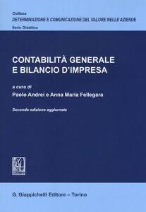 Libro Contabilità generale e bilancio d'impresa. Ediz. aggiornata