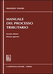 Ristorantezintonio.it Manuale del processo tributario Image
