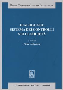 Libro Dialogo sul sistema dei controlli nelle società