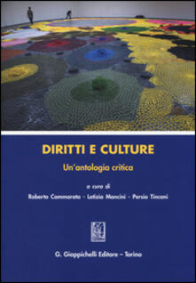 Radiospeed.it Diritti e culture. Un'antologia critica Image