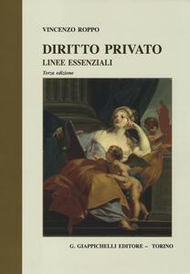 Diritto privato. Linee essenziali - Vincenzo Roppo - copertina