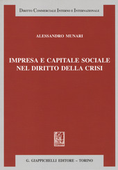 Impresa e capitale sociale nel diritto della crisi