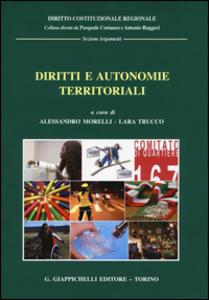 Libro Diritti e autonomie territoriali