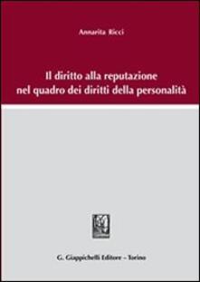 Mercatinidinataletorino.it Il diritto alla reputazione nel quadro dei diritti della personalità Image