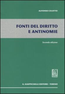 Recuperandoiltempo.it Fonti del diritto e antinomie Image