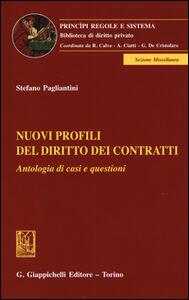 Nuovi profili del diritto dei contratti. Antologia di casi e questioni