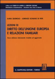 Atomicabionda-ilfilm.it Lezioni di diritto dell'Unione Europea e relazioni familiari Image