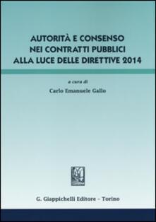Daddyswing.es Autorità e consenso nei contratti pubblici alla luce delle direttive 2014 Image