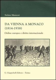 Promoartpalermo.it Da Vienna a Monaco (1814-1938). Ordine europeo e diritto internazionale Image