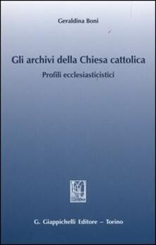 Amatigota.it Gli archivi della Chiesa cattolica. Profili ecclesiastici Image