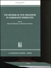 The reforms of civil procedure in comparative perspective