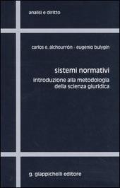 Sistemi normativi. Introduzione alla metodologia della scienza giuridica