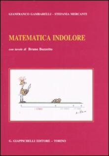 Premioquesti.it Matematica indolore. Per applicazioni economiche, politiche, sociali, manageriali Image