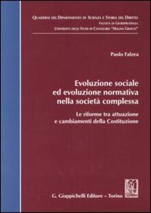 Recuperandoiltempo.it Evoluzione sociale ed evoluzione normativa nella società complessa. Le riforme tra attuazione e cambiamenti della Costituzione Image