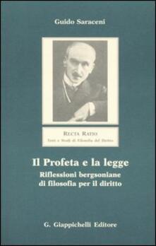 Vitalitart.it Il profeta e la legge. Riflessioni bergsoniane di filosofia per il diritto Image