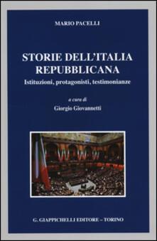Camfeed.it Storie dell'Italia repubblicana. Istituzioni, protagonisti, testimonianze Image