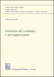 Associazionelabirinto.it Giustizia del contratto e presupposizione Image