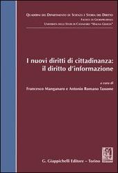 I nuovi diritti di cittadinanza: il diritto d'informazione