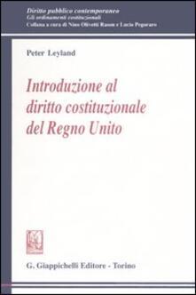 Lpgcsostenible.es Introduzione al diritto costituzionale del Regno Unito Image
