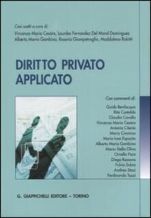 Capturtokyoedition.it Diritto privato applicato Image