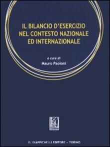 Il bilancio desercizio nel contesto nazionale ed internazionale.pdf