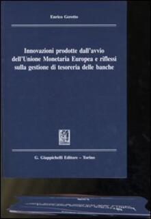 Voluntariadobaleares2014.es Innovazioni prodotte dall'avvio dell'unione monetaria europea e riflessi sulla gestione di tesoreria delle banche Image