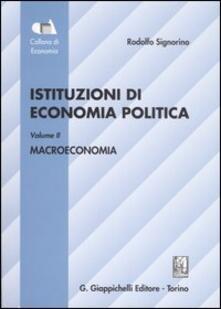 Scacciamoli.it Istituzioni di economia politica. Vol. 2: Macroeconomia. Image