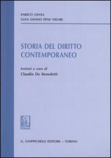 Daddyswing.es Storia del diritto contemporaneo. Lezioni Image