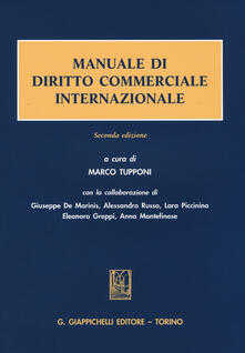 Osteriacasadimare.it Manuale di diritto commerciale internazionale Image