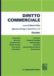 Vitalitart.it Diritto commerciale. Estratto 2015 Image