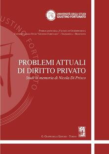 Winniearcher.com Problemi attuali di diritto privato. Studi in memoria di Nicola Di Prisco Image