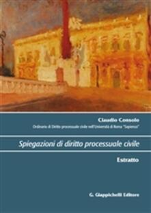 Ipabsantonioabatetrino.it Spiegazioni di diritto processuale civile. Estratto Image