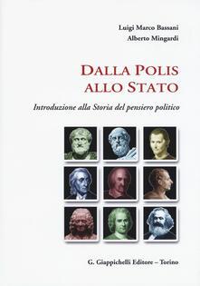 Mercatinidinataletorino.it Dalla polis allo Stato. Introduzione alla storia del pensiero politico Image