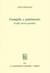 Famiglia e patrimonio. Profili storico-giuridici