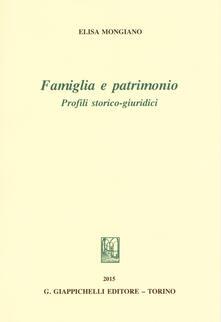 Nicocaradonna.it Famiglia e patrimonio. Profili storico-giuridici Image