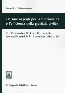Ascotcamogli.it «Misure urgenti per la funzionalità e l'efficienza della giustizia civile» Image