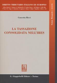 Fondazionesergioperlamusica.it La tassazione consolidata nell'IRES Image