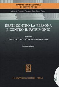 Libro Reati contro la persona e contro il patrimonio