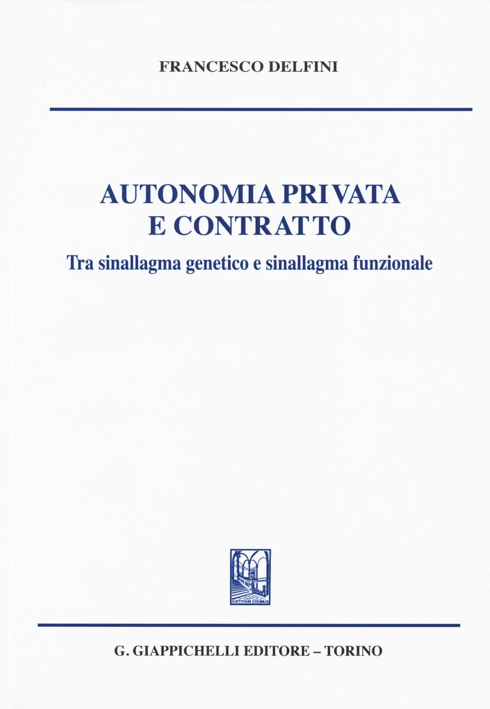 Autonomia privata e contrat...