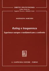 Rating e trasparenza. Esperienze europee e nordamericane a confronto