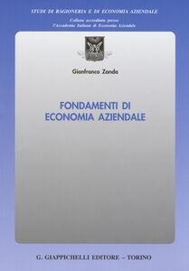 Libro Fondamenti di economia aziendale Gianfranco Zanda