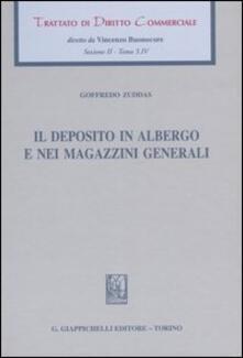 Squillogame.it Trattato di diritto commerciale. Sez. II. Vol. 3\4: Il deposito in albergo e nei magazzini generali. Image