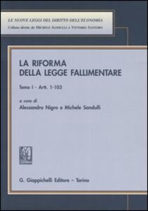 Foto Cover di La riforma della legge fallimentare vol. 1-2, Libro di  edito da Giappichelli