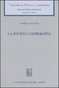 Trattato di diritto commerciale. Sez. IV. Vol. 9: La società cooperativa.