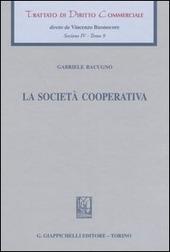 Trattato di diritto commerciale. Sez. IV. Vol. 9: La societa cooperativa.