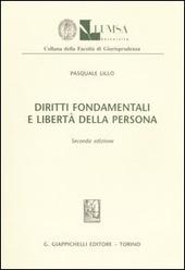 Diritti fondamentali e libertà della persona