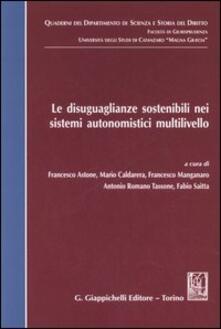Ipabsantonioabatetrino.it Le disuguaglianze sostenibili nei sistemi autonomistici multilivello Image